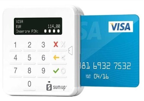 SumUp payment device